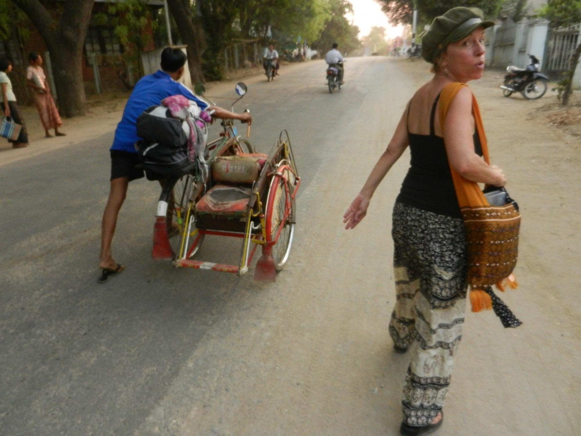 Amy in Burma