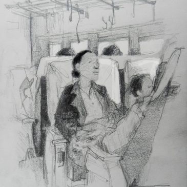 The Burma Project: Day 6 (Woman on Train)