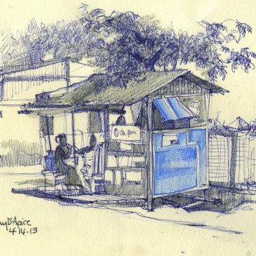 The Burma Project: Day 17 (Betel Nut Shop)