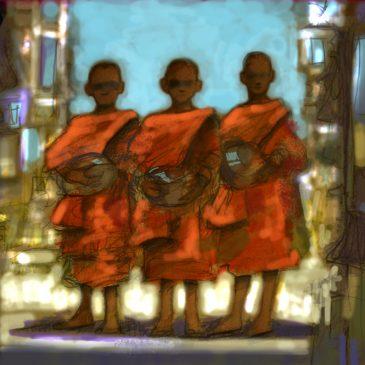 Three Monks