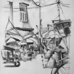 Urban sketch 1-15