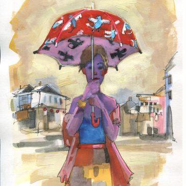 A Lost Umbrella in Penang