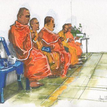 Monks at the Mini-Mart