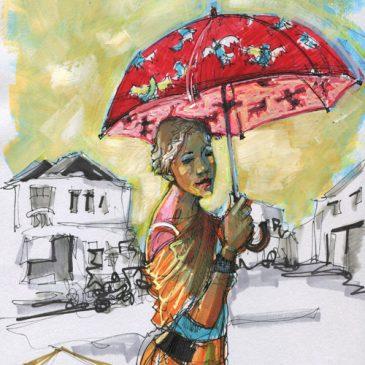 A Lost Umbrella in Malasia