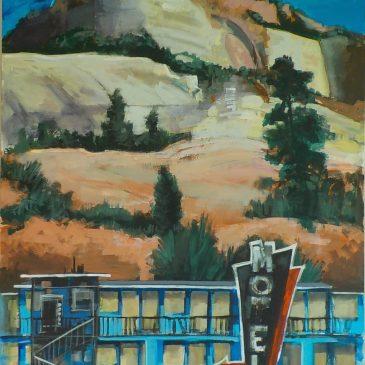 A Blue Motel